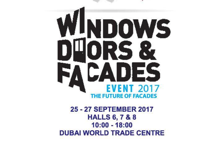 نمایشگاه پنجره ، در و نماهای خارجی دبی 2017
