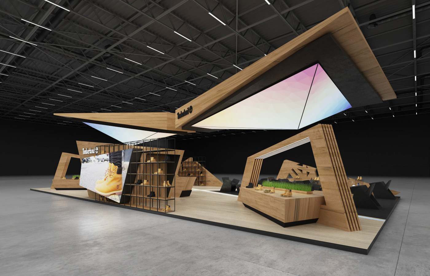 The Design and Decoration of Exhibition Stands 1