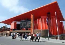 طراحی سالن و غرفه نمایشگاهی سالن استرالیا در اکسپو 2000 آلمان
