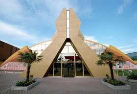 طراحی سالن و غرفه نمایشگاهی سالن هند در اکسپو 2000 آلمان