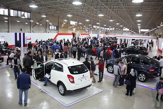 نمایشگاه بین المللی خودرو و قطعات یدکی تبریز