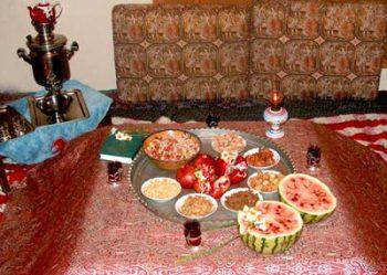 نمایشگاه حفظ سنت های ملی یلدا تبریز