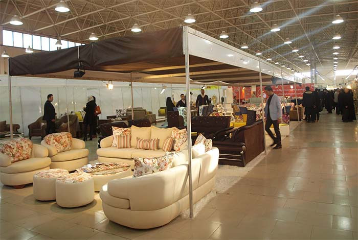 The 6th Tabriz Exhibition of furniture