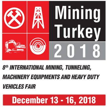 Istanbul International Exhibition of Mining, Machinery Equipments (Tuyap Fair Center)
