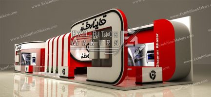 stand design for Ghaynar Khazar