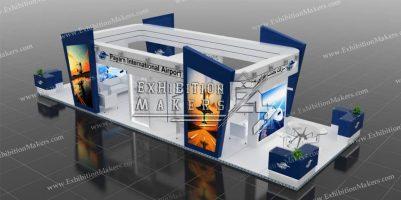 غرفه فرودگاه بین المللی و منطقه ویژه اقتصادی پیام