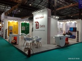 طراحی و ساخت غرفه داتیس در نمایشگاه IEE EXPO هند