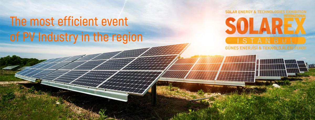Istanbul International Exhibition of Solarex (CNR Fair Center)