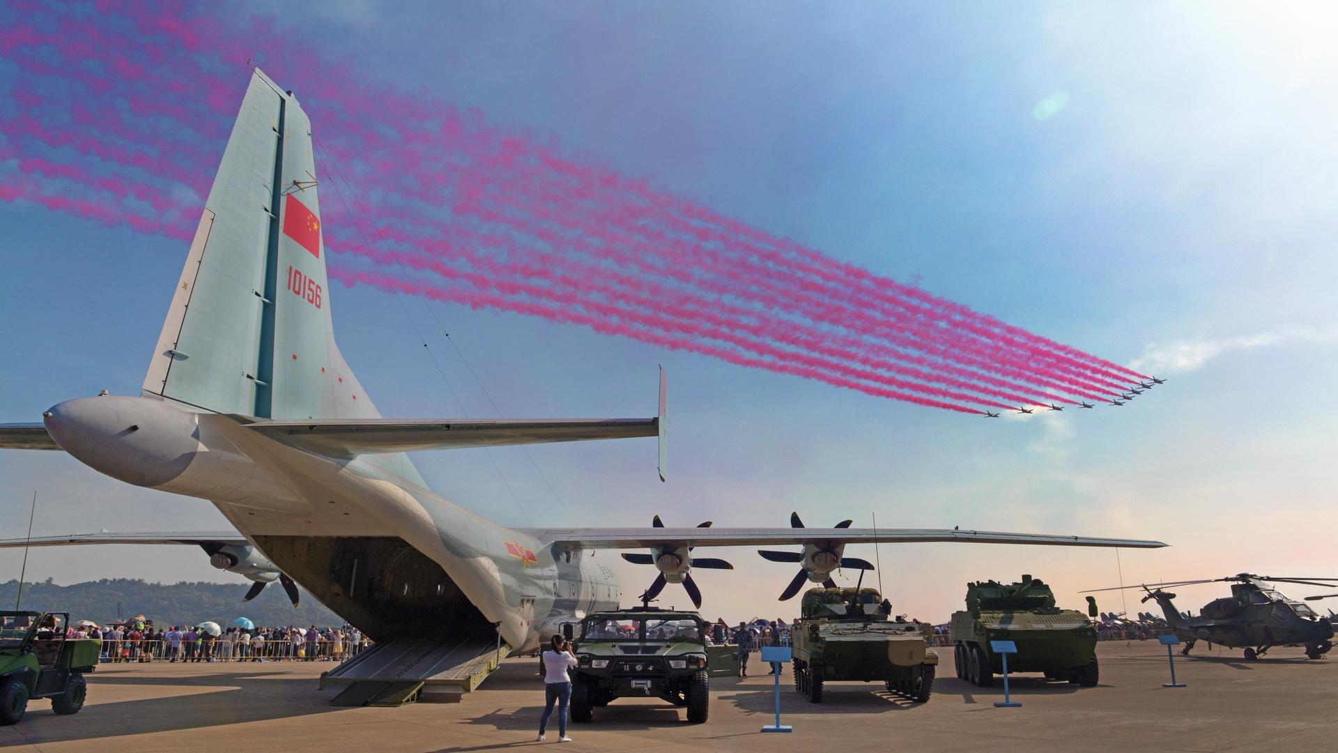 The Shanghai International Aerospace Technology and Equipment Exhibition