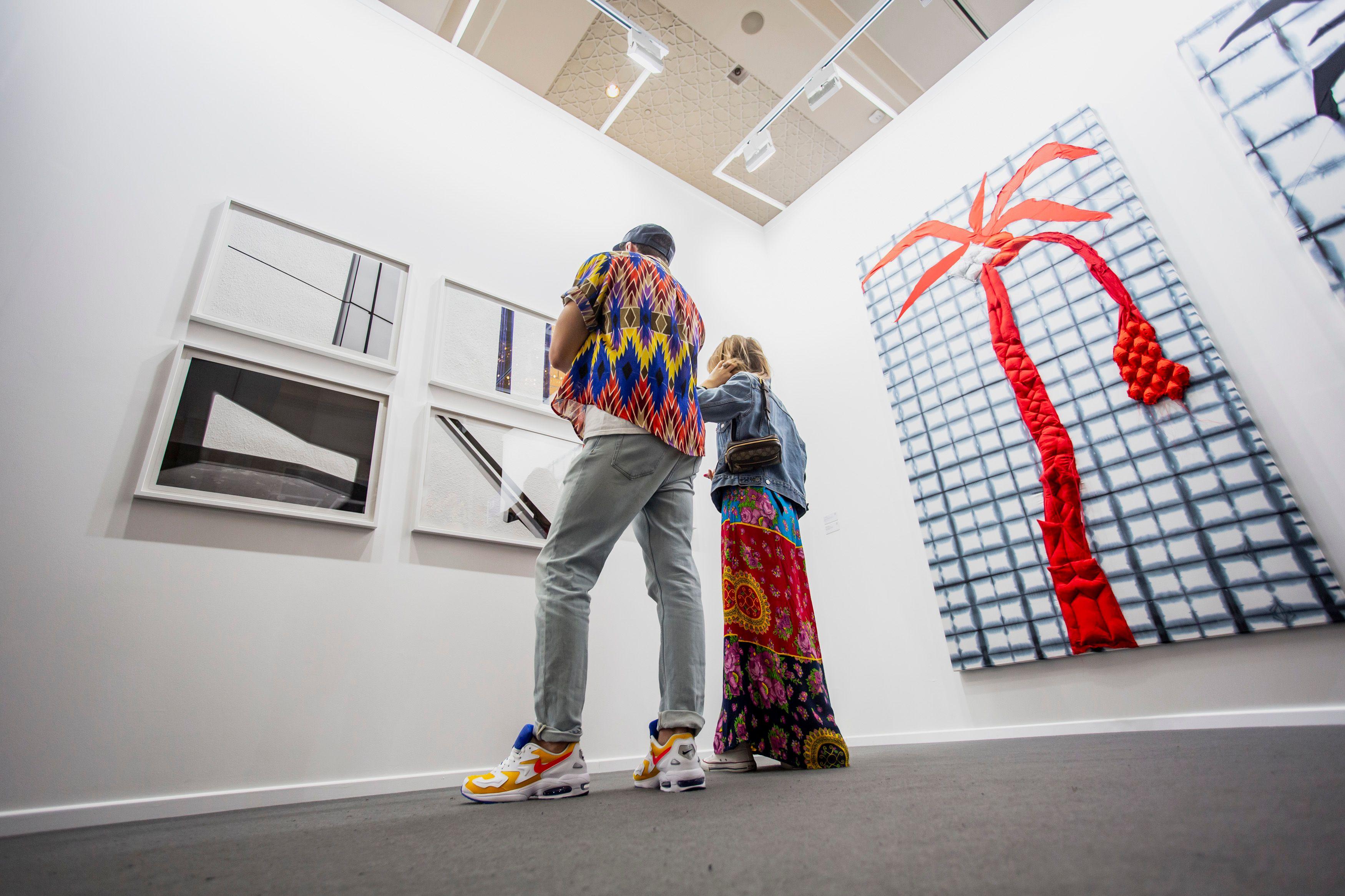 نمایشگاه بین المللی هنر دبی امارات