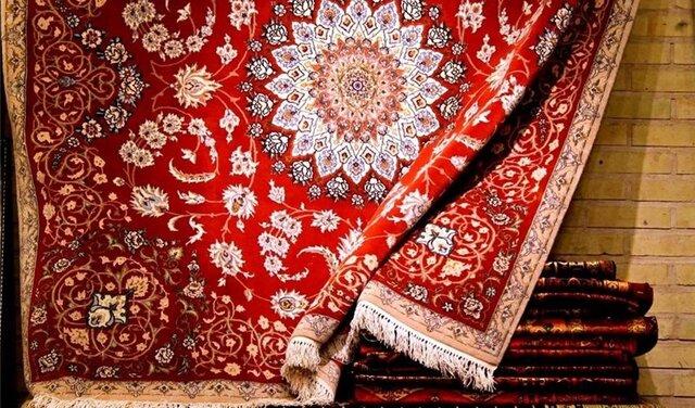 Exhibition of handmade carpets