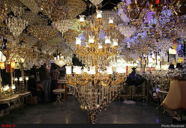 نمایشگاه لوستر و چراغهای تزئینی ایران تهران